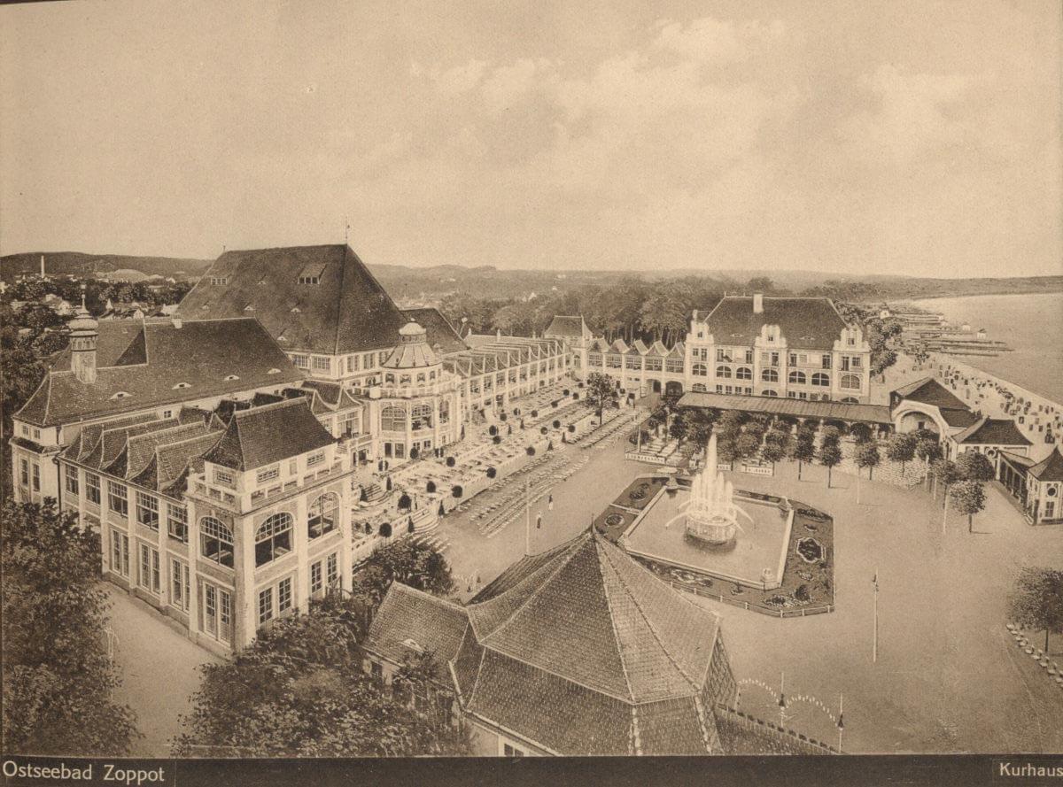 MOSiR Molo - historia_Kompleks-trzeciego-Domu-Zdrojowego-1915-r.-Zbiory-Muzeum-Sopotu