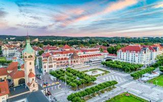 MOSiR Molo - galeria - zdjęcie Sopotu o wschodzie słónca